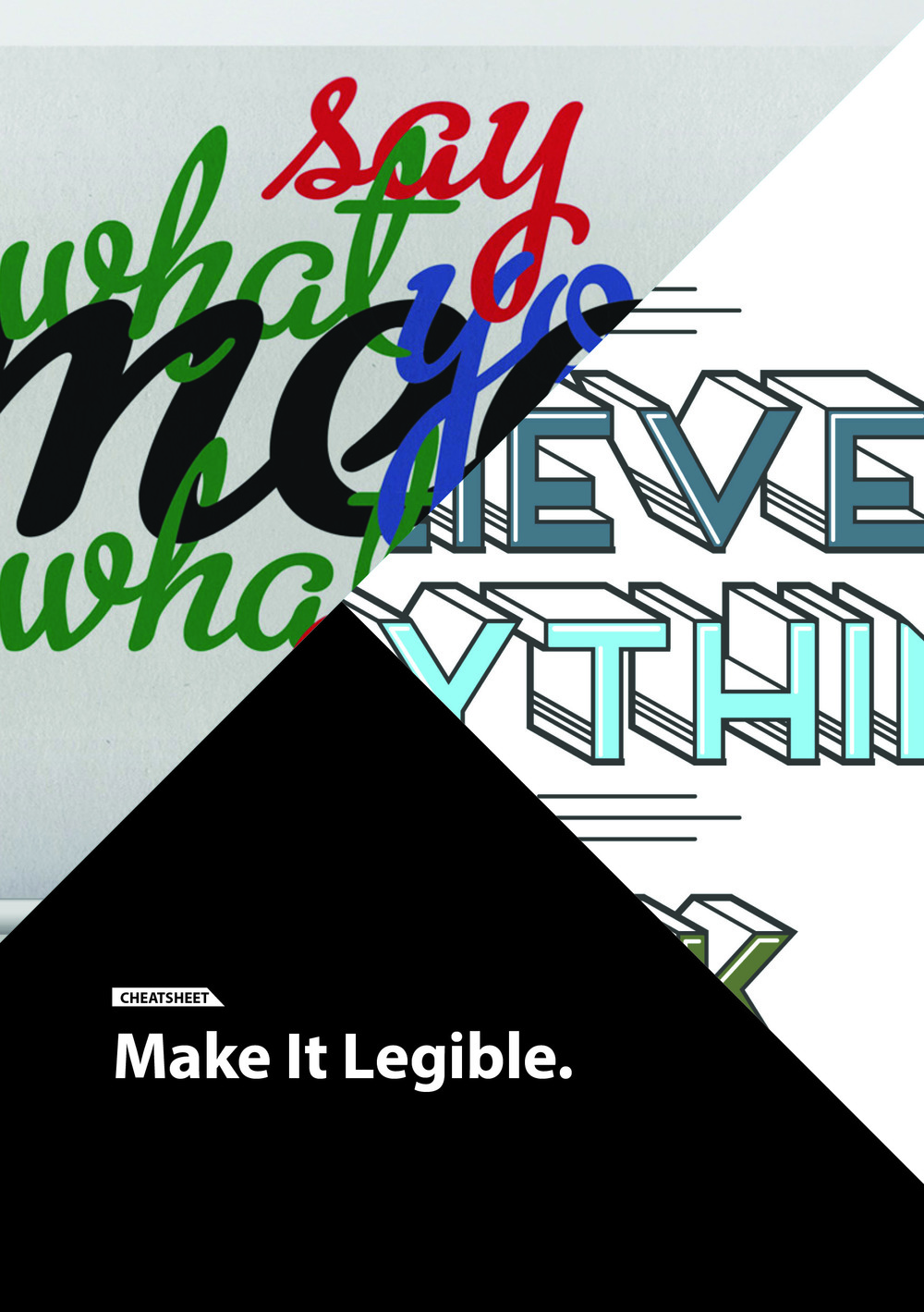 Make it  Legible