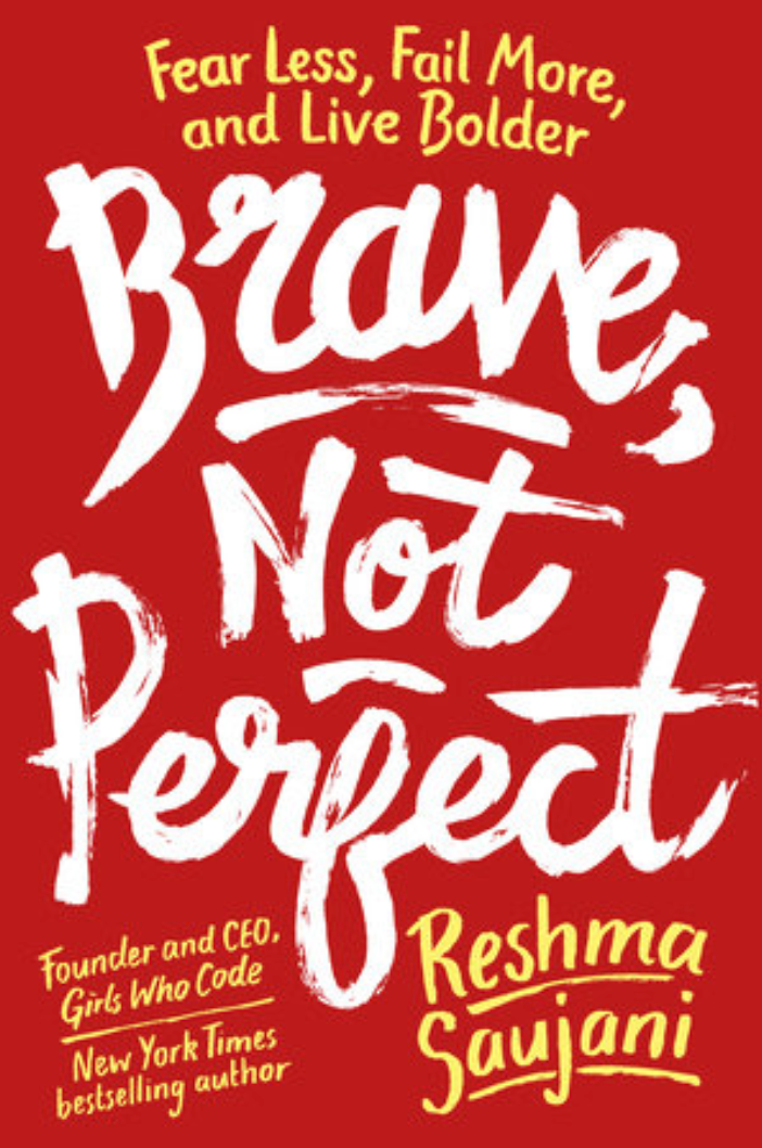Image of the cover of the book Brave, Not Perfect