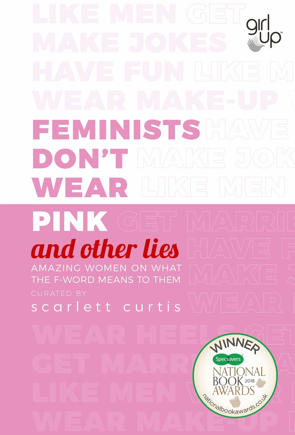 Image of the front cover of the book Feminists Don't Wear Pink
