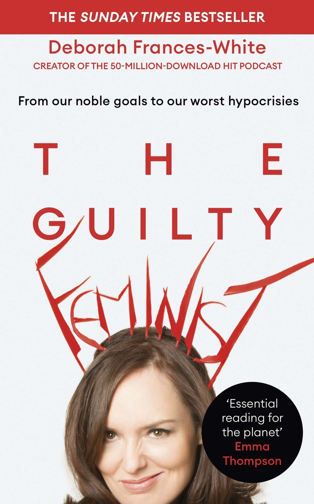 Image of the front cover of the book The Guilty Feminist