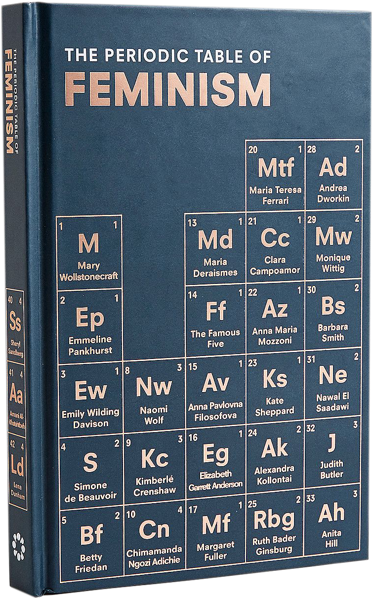 Image of the front cover of the book The Periodic Table Of Feminism