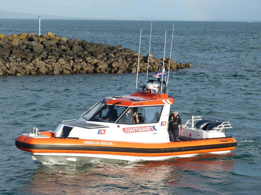 HIB1 - our Naiad 9.5m rescue craft