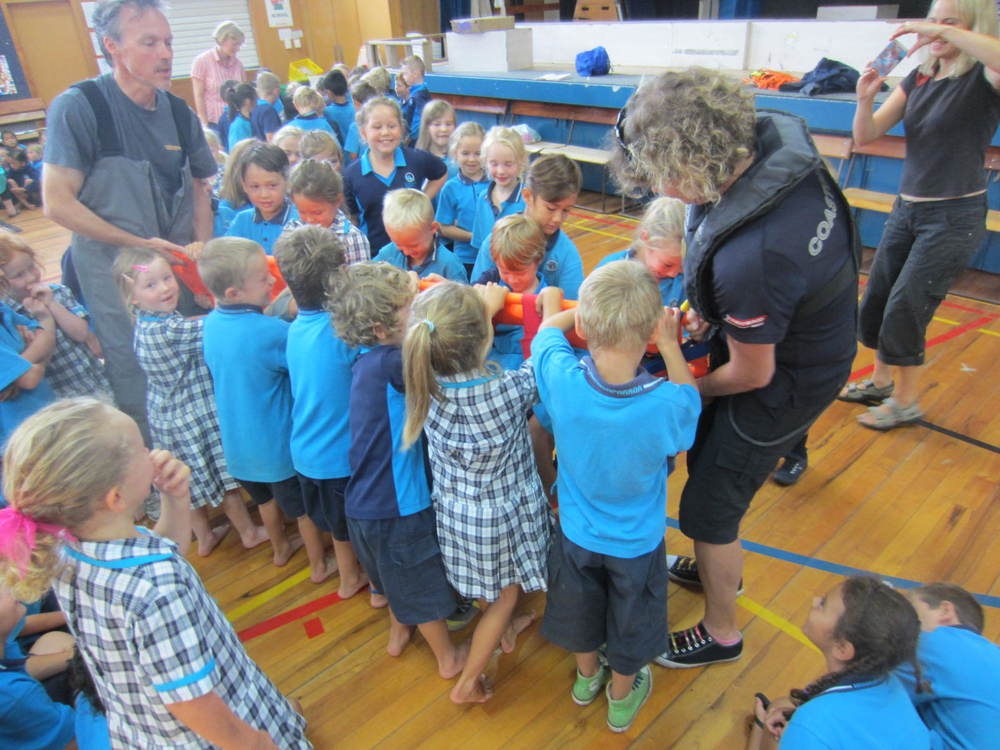 Whangaparaoa Primary medics in training