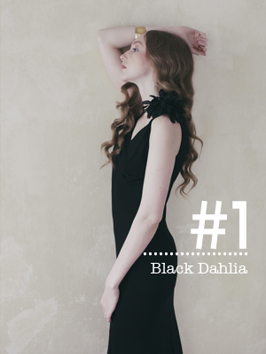 series #1  Replicated 1930's  Day - Evening Dress   Black Dahlia        89€      shop & details >
