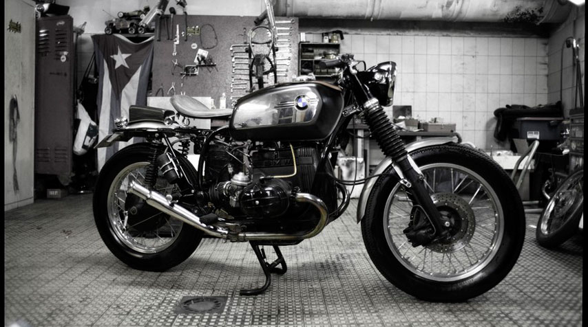 1960's British Café Racer inspired BMW R80/7