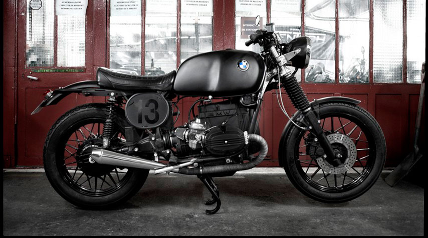 Mad Max inspired Café Racer BMW.