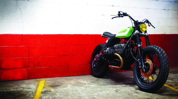 blitz motorcycles | bmw r80gs dirt island