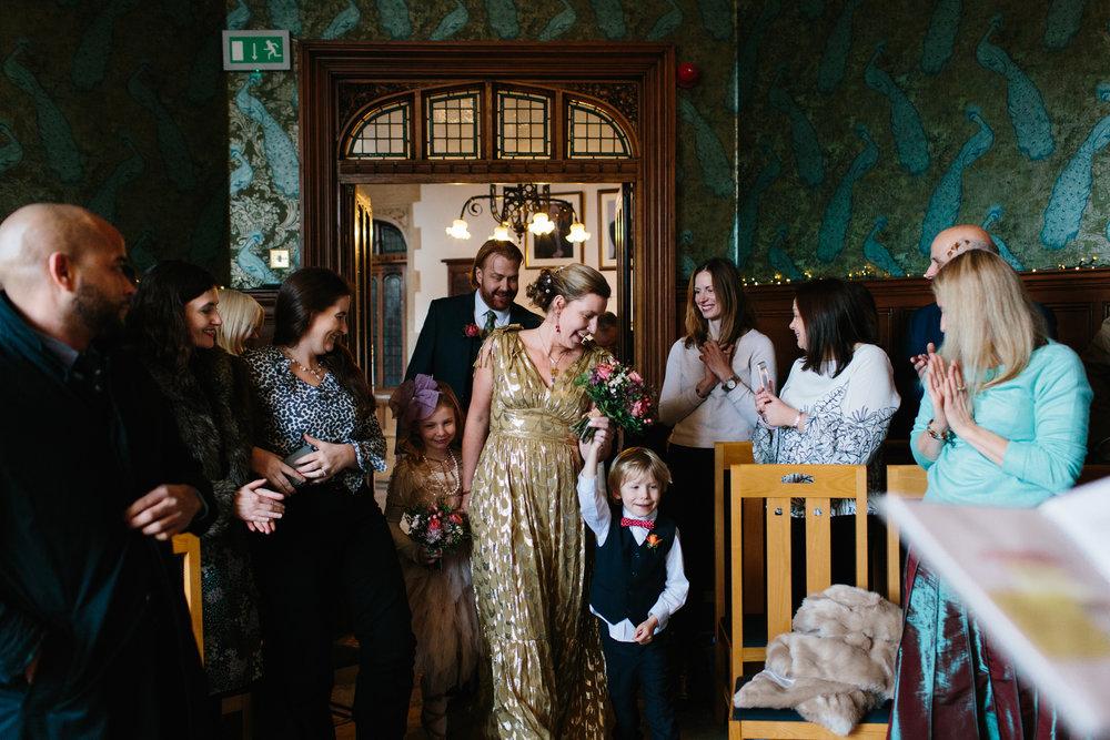 green man winchester wedding