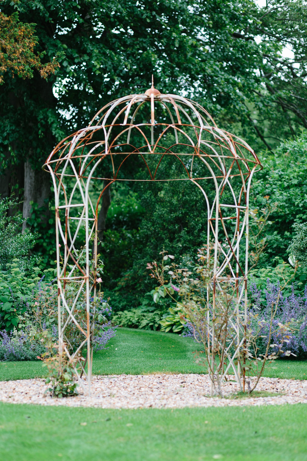 beautiful wedding garden