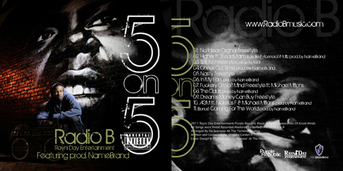 5 on 5 Mixtape - Radio B