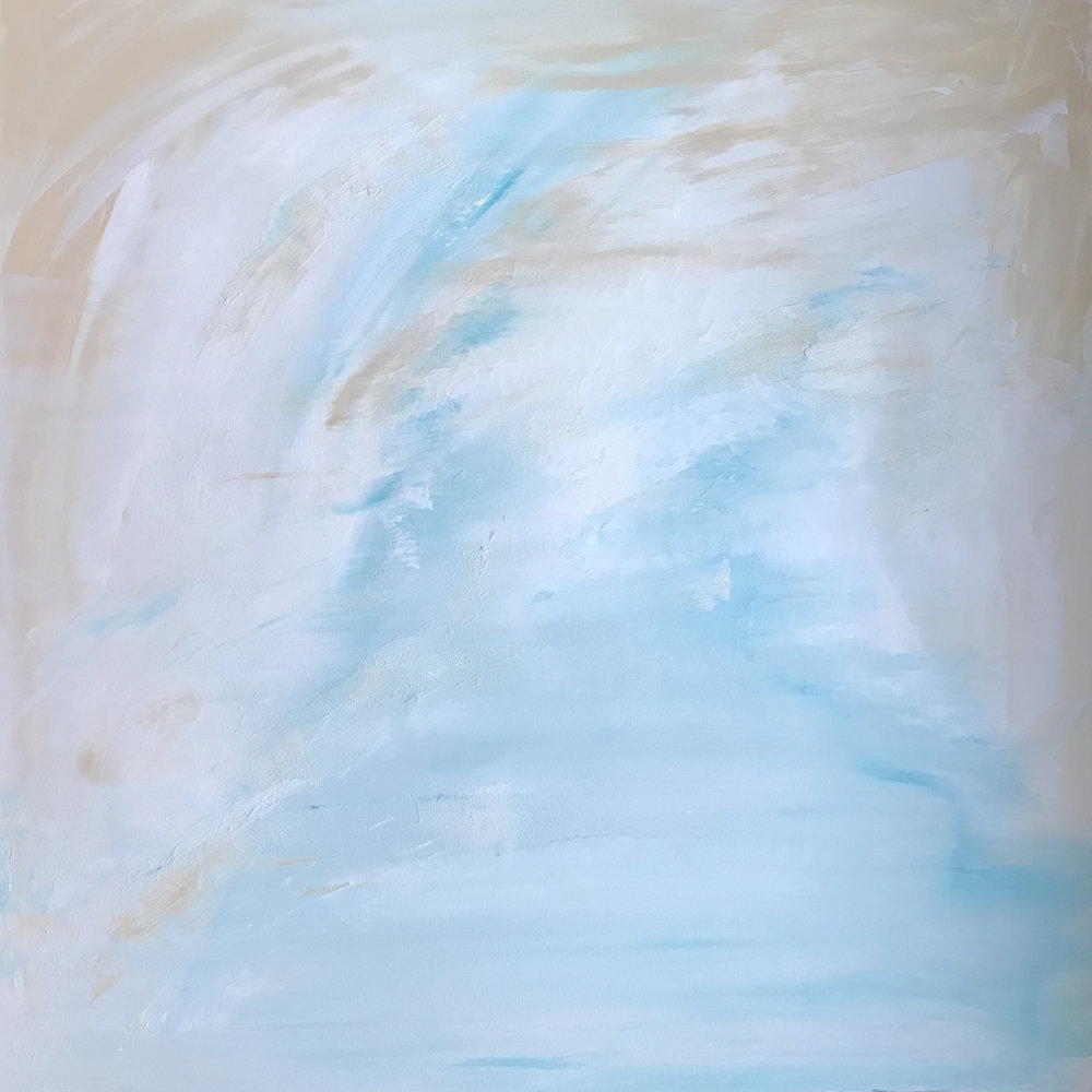 Coastal Breeze | 30 x 30""