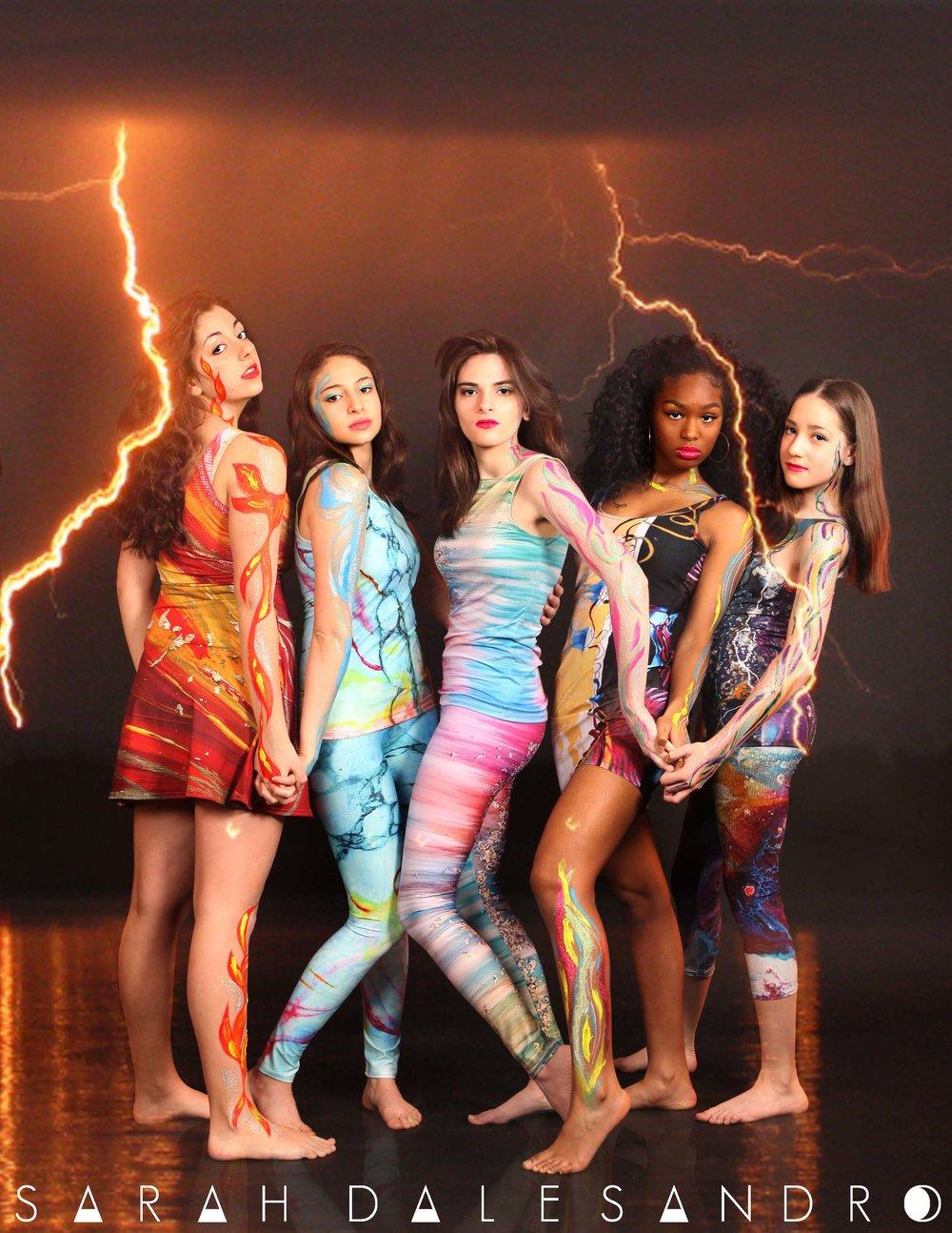 Elemental Goddess Photoshoot Group Shot with Logo.jpg