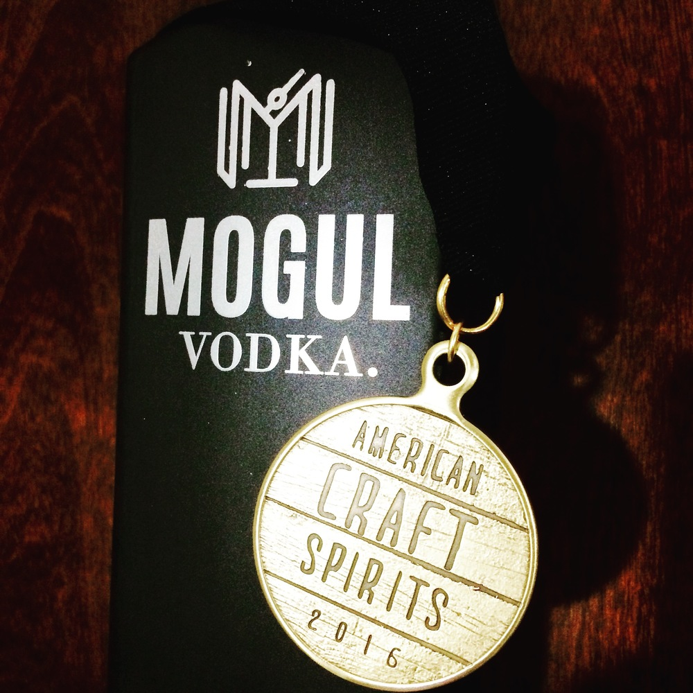 Gold Medal awarded by the American Craft Spirits Association for 2016