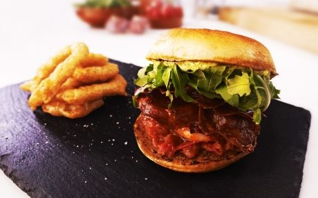 Lobster & Chorizo Burger