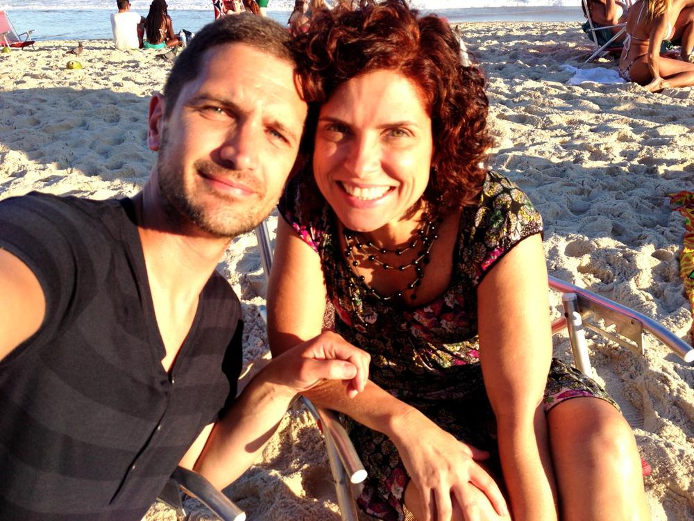 Flavia & I (in the sun)