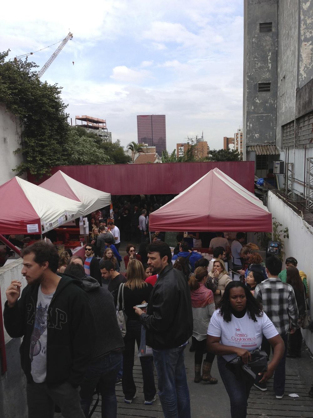 Sao Paulo's Street Food Festival