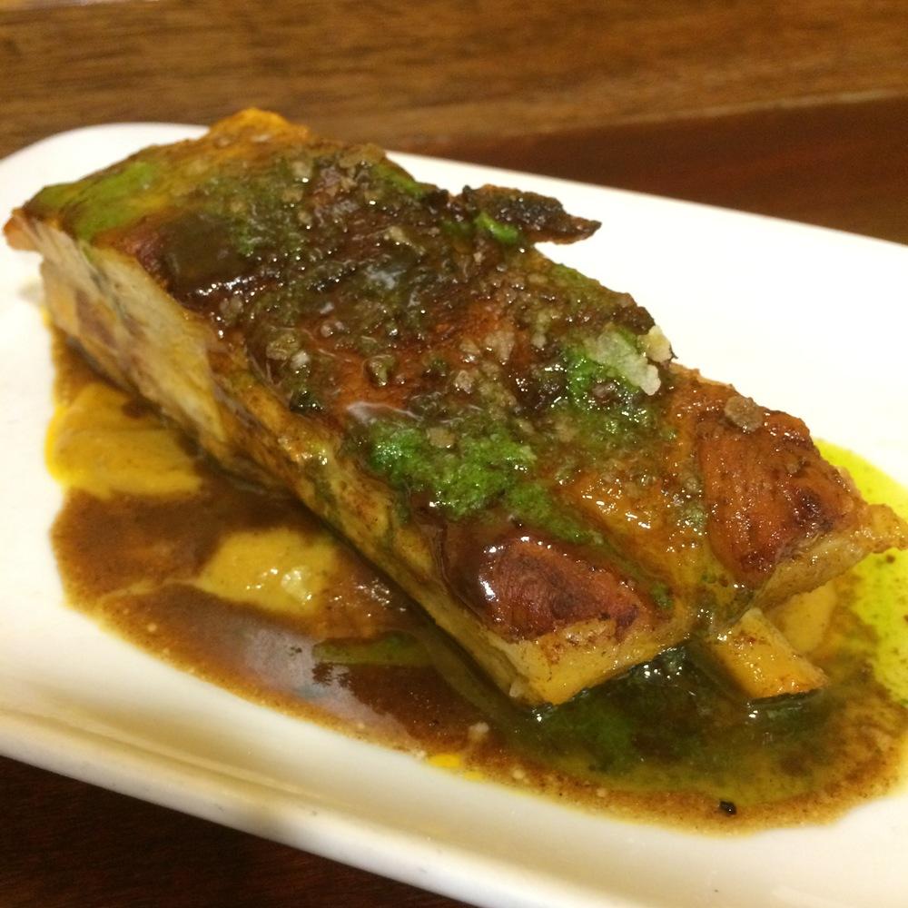 Borda Berri's Iberian pork ribkebab