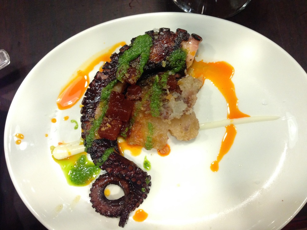 Borda Berri's roasted octopus