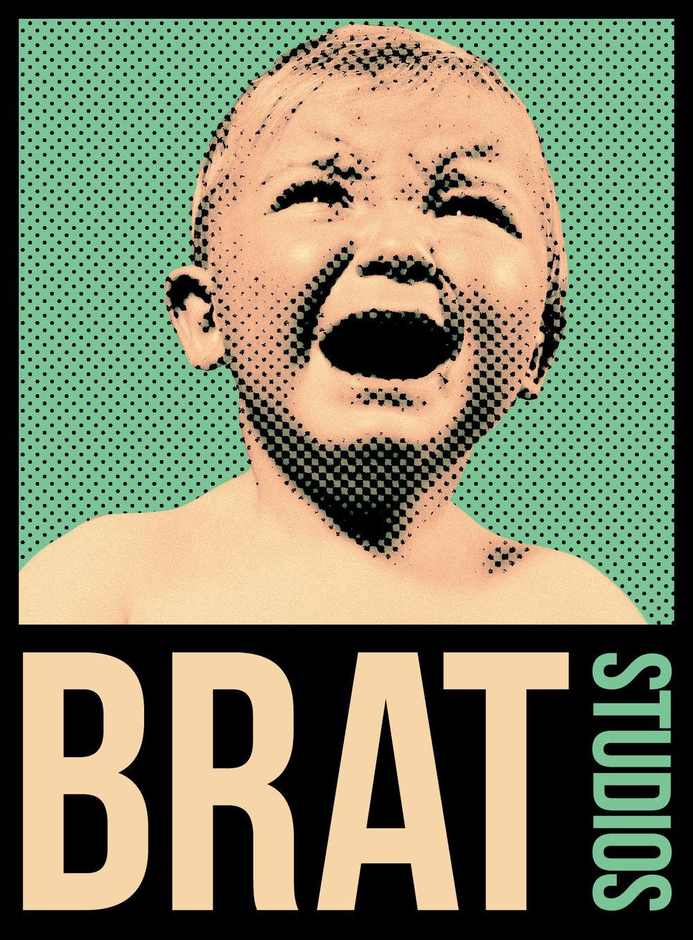 BRAT Studios - Logo Design - 2013