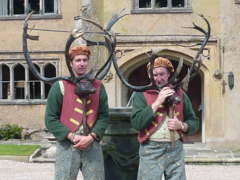 Horn Dancers in front of Blithfield Hall.jpg