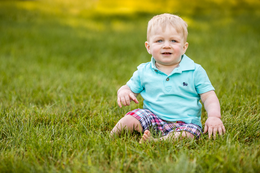 Aiden in his backyard » Anita Joy Photography