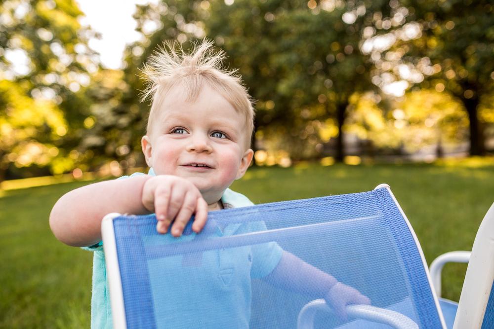 Aiden in his backyard » Anita Joy Photography