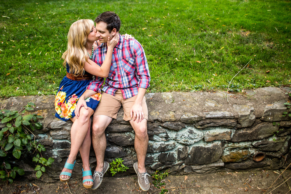 villanova engagement session | www.anitajoyphotography.com