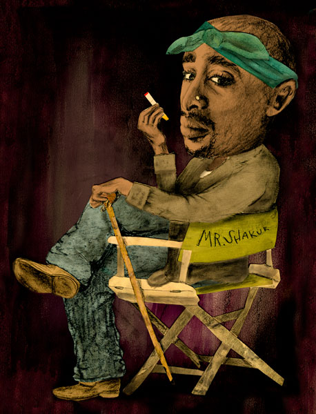 Reblogging for Tupac's Birthday!!!!! Feliz Cumple Bitch.