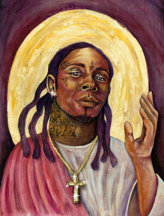 I am going to redo an old piece for Square Carousel this month. TUNECHI.
