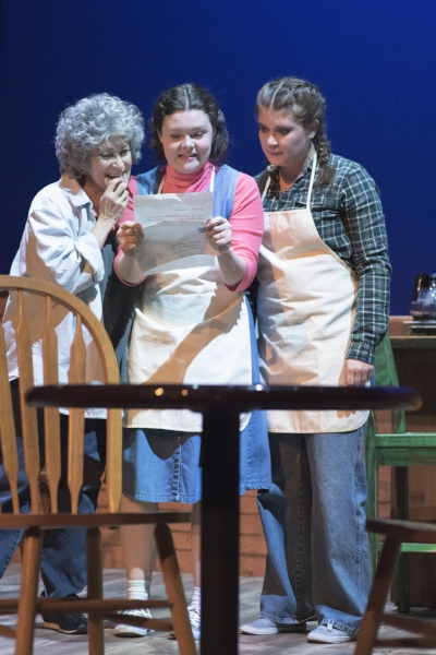Alaina Warren Zachary as Hannah, Kelsey Ann O'Keefe as Shelby, Amy Bourque as Percy