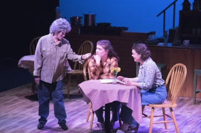Alaina Warren Zachary as Hannah, Amy Bourque as Percy, Kelsey Ann O'Keefe as Shelby
