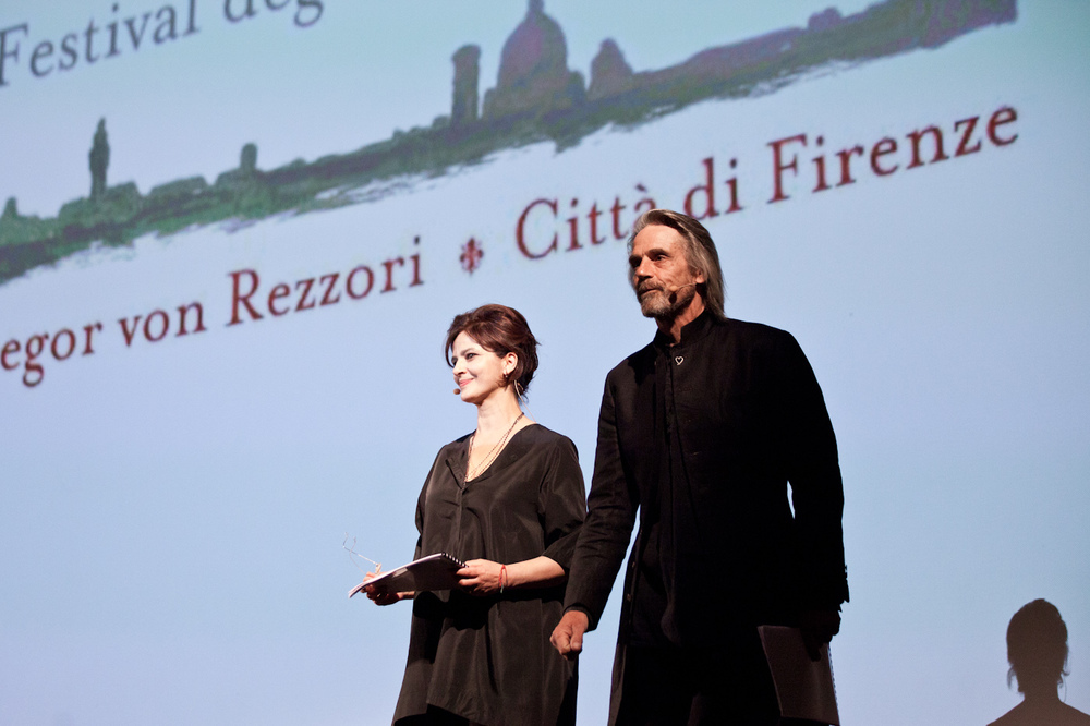 Laura Morante e Jeremy Irons