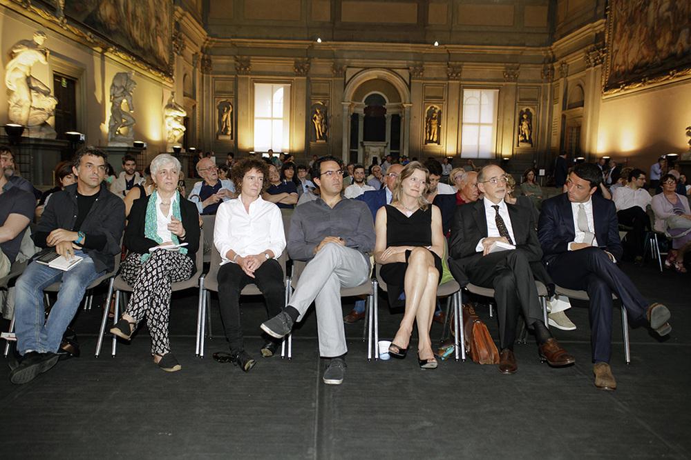 i finalisti alla cerimonia di premiazione