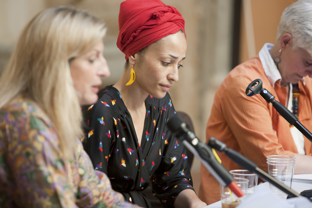 Livia Manera and Zadie Smith