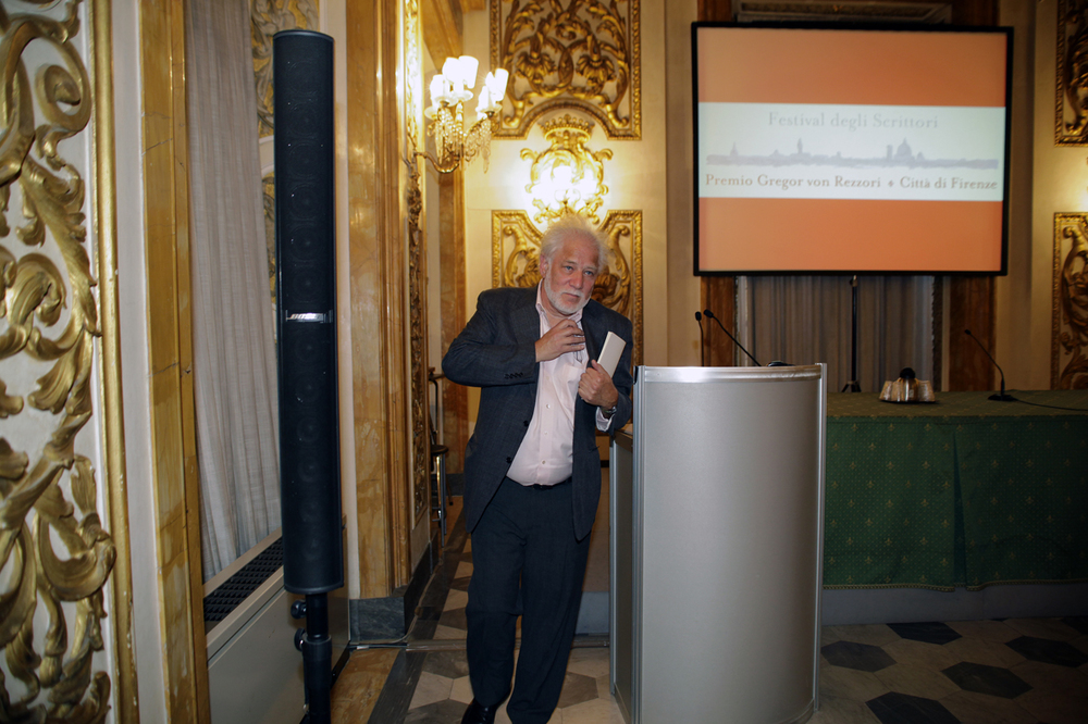 Michael Ondaatje at the Lectio Magistralis