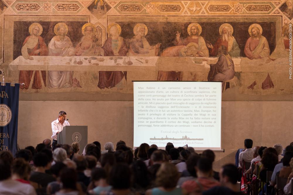 La Lectio Magistralis di Emmanuel Carrère al Cenacolo di Santa Croce