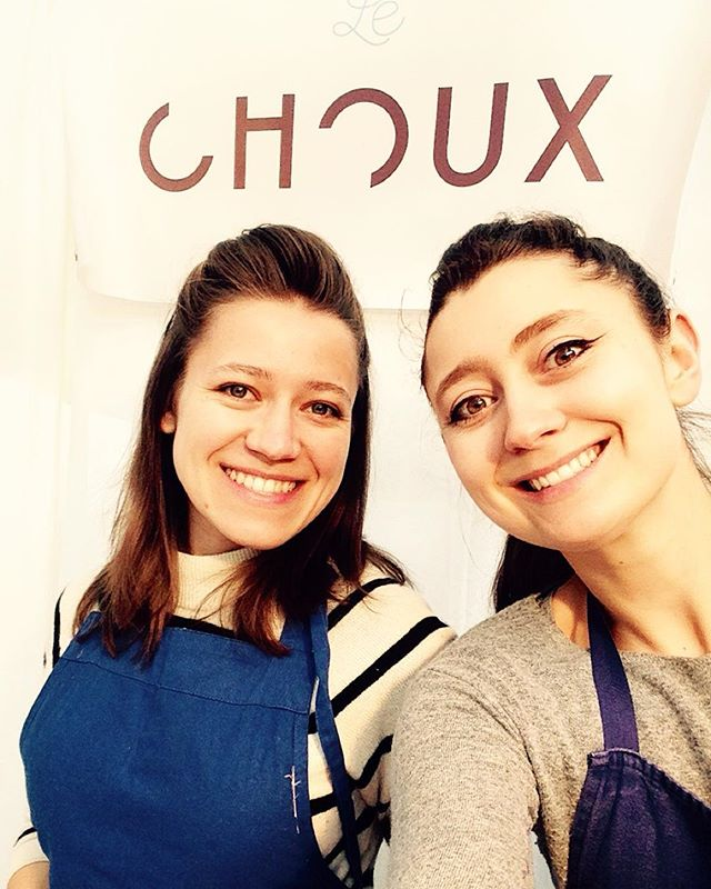 Cheeky selfie from yesterday! Such a lovely day at our @lechoux_ldn stall in @oldspitalfields !