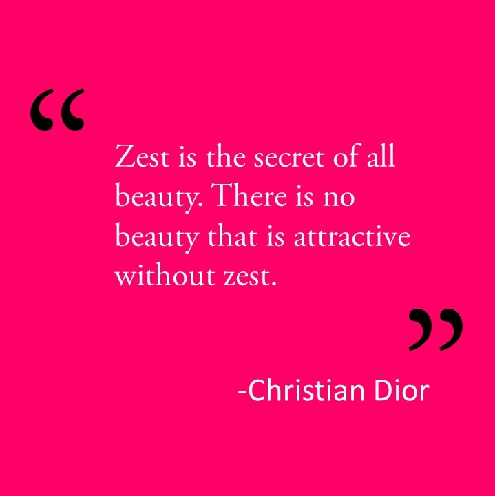 Christian Dior Beauty Quote