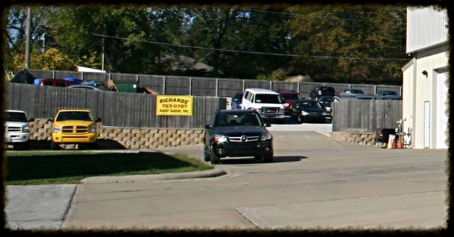 Richards' Secure Auto Body Parking Lot