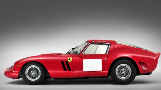 1962 Red Ferrari 250 GTO