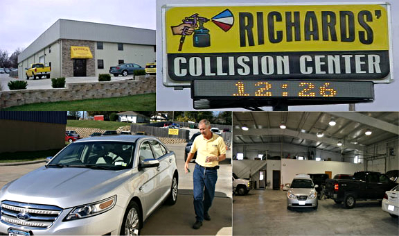 Richard Singleton, Owner of Richards' Collision Center.
