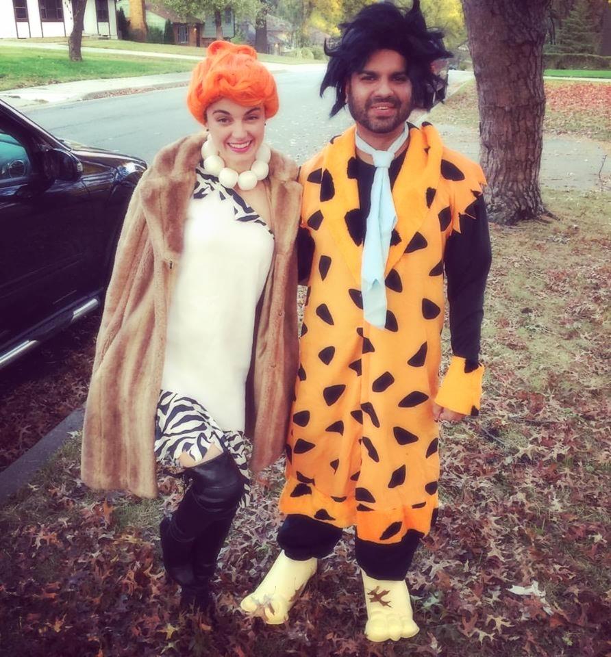 Wilma & Barney - Halloween 2016