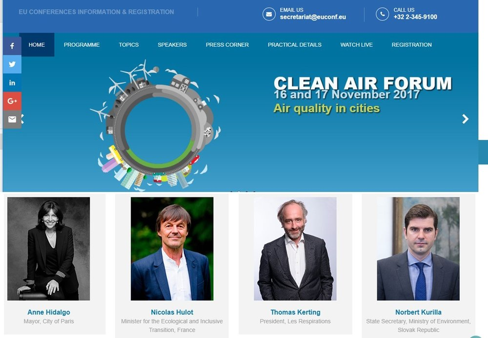 EU Clean Air Forum_Speakers