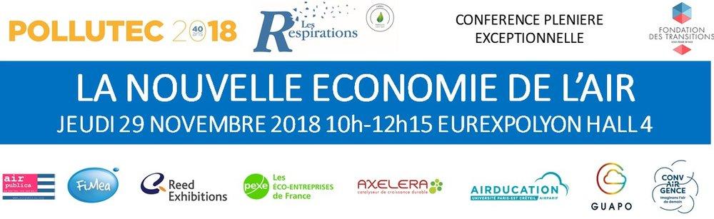 Nouvelle Economie Air 29 nov. 2018 Pollutec Les Respirations