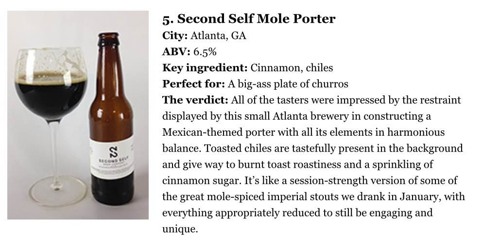 Paste Magazine,   February 17, 2015,  35 of the Best American Porters, Ranked