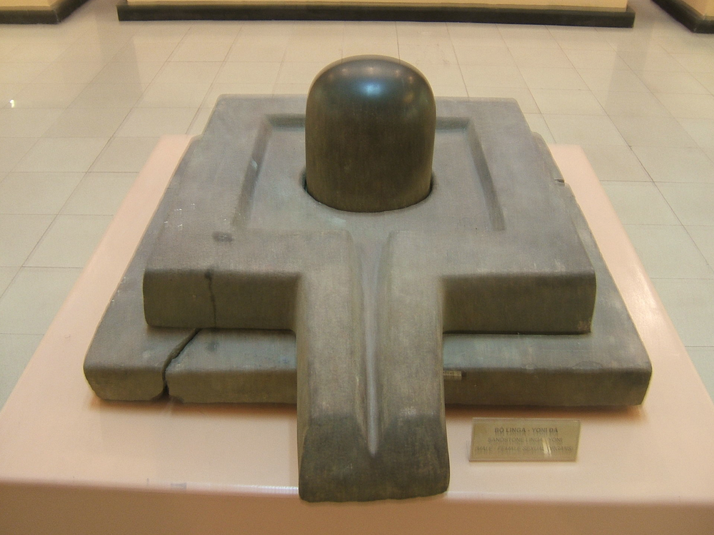 Linga-Yoni at the Vietnam National Museum