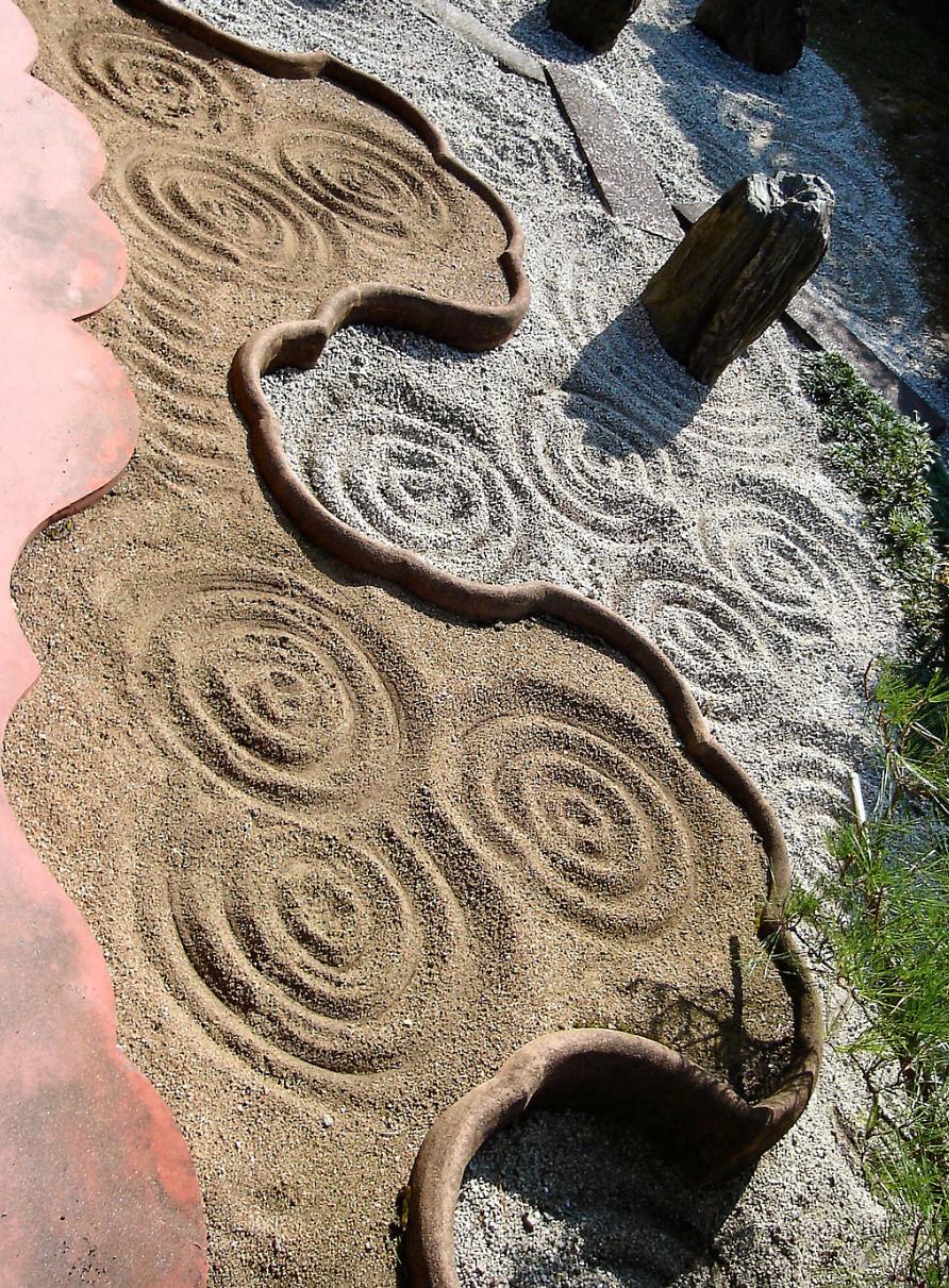 Part of the modern zen garden at Tōfuku-ji (1940).