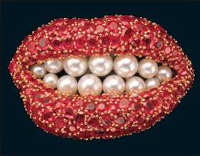 SALVADOR DALI'S RUBY LIPS