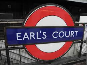 Iconic Earls Court - one of London's most well known Underground stations