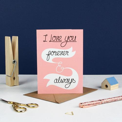 Forever always greetings card ink bandit forever always greetings card m4hsunfo